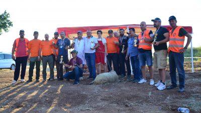 Lüleburgaz ilçesinde tek kurşun yarışması düzenlendi