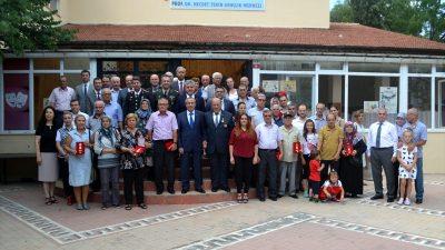 Lüleburgaz'da Kıbrıs gazilerine madalya ve berat
