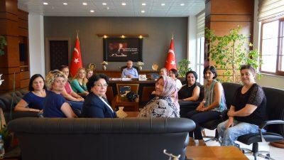 Trakya İyi Kadın İnisiyatifi Lüleburgaz Kaymakamı Mustafa Kaya'yı Ziyaret Etti