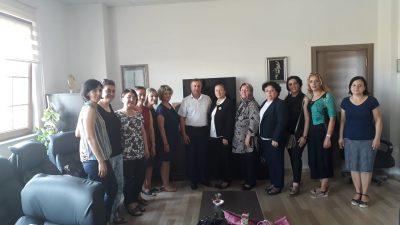 Trakya Kadın İnisiyatifinden Lüleburgaz İlçe Milli Eğitime Ziyaret