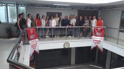 Trakya İyi Kadın İnisiyatifi Lüleburgaz Belediye Başkan Yardımcısı Leyla Güncer'e Ziyaret