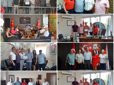 Lüleburgaz Kent Konseyi Nezaket Ziyaretlerine Başladı