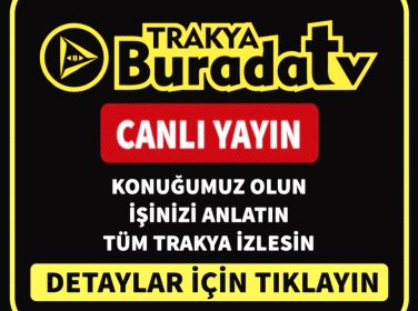 Trakya Burada TV 'de Canlı Yayınlarımız Başladı. (Lüleburgaz)